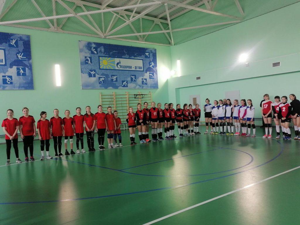 III открытый турнир по волейболу среди девушек