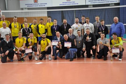 Чемпионат Оренбургской области по волейболу среди мужчин