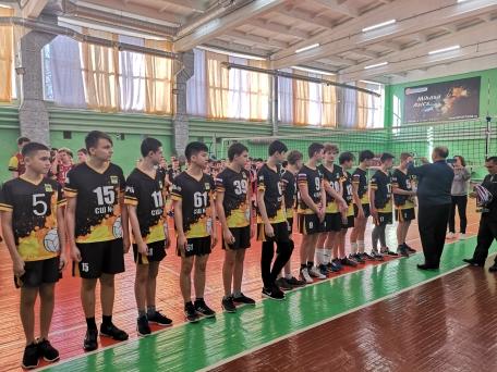 Первенство города по волейболу среди юношей