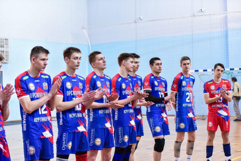 Первенство Оренбургской области среди юношей 2003-2004 гг.р. по волейболу.