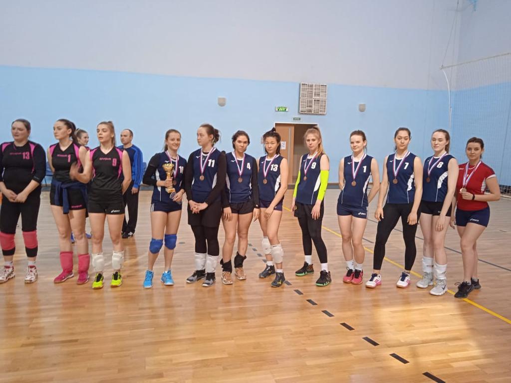 Чемпионат Оренбургской области по волейболу среди женщин