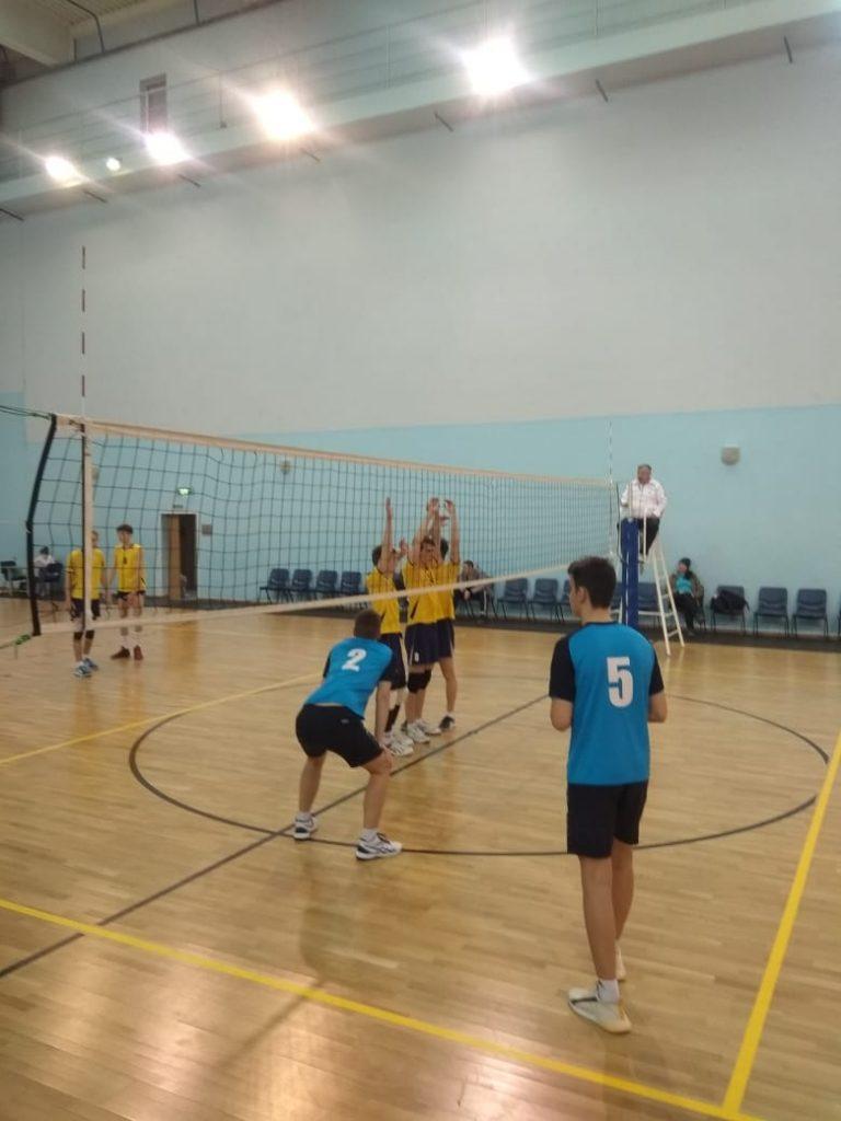 Первенство области по волейболу среди юношей