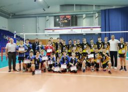 Финальные соревнования по волейболу на первенство Оренбургской области среди юношей